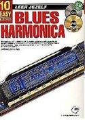 Leer-Jezelf-Blues-Harmonica-10-eenvoudige-lessen-(Boek-Online-Audio-en-Video)