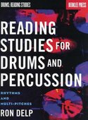 Berklee-Press:-Ron-Delp--Reading-Studies-For-Drums-And-Percussion-Rhythms-And-Multi-Pitches-(Book)