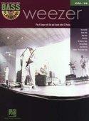 Bass-Play-Along-Volume-24:-Weezer-(Book-CD)