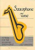 Joep-Wanders:-Saxophone-Time-Alt-Tenor-Saxofoon-(Boek)