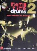 Real-Time-Drums-2-Basic-Method-For-Drumset-(Level-2)-(Boek-2-CD)