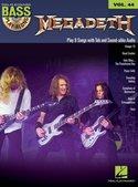 Bass-Play-Along-Volume-44:-Megadeth-(Book-CD)