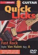 Lick-Library:-Quick-Licks-For-Guitar-Van-Halen-Fast-Rock-Key-Of-A-(DVD)